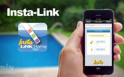Smartphone apps for swimming pools and hot tubs care